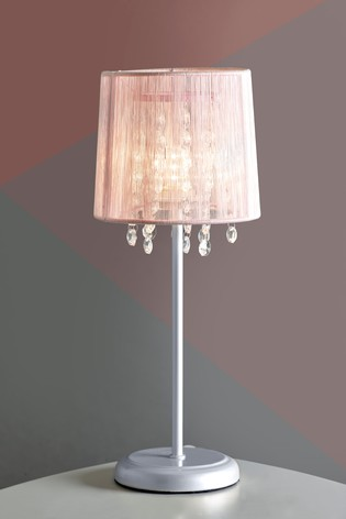 723ec5ae3830 Buy Small Pink Palazzo Table Lamp from the Next UK online shop