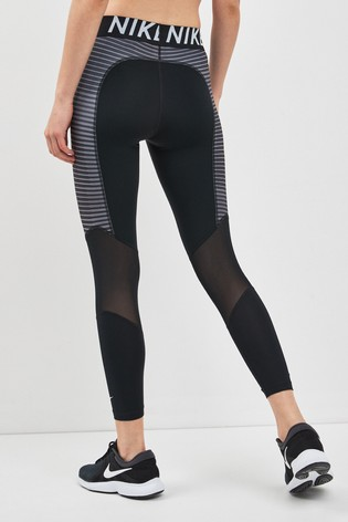 debeb465a0 Buy Nike Pro Black Hyper Cool 7/8 Tight from Next Kuwait