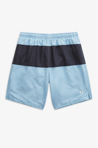 6aa404e839 Buy Fred Perry Colourblock Panelled Swim Short from Next Italy
