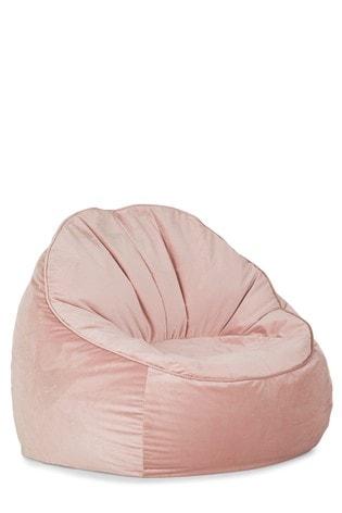 Fabulous Velvet Shell Back Bean Chair Customarchery Wood Chair Design Ideas Customarcherynet