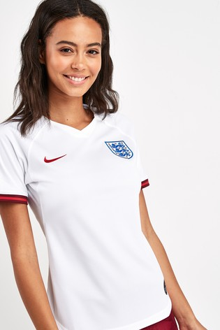 reputable site 1b670 c72f0 Nike Dri-FIT Breathe England Stadium Home Jersey ...
