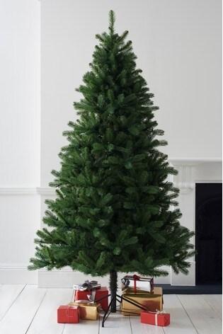 Douglas Fir Christmas Tree.Luxe Douglas Fir 7ft Lit Christmas Tree