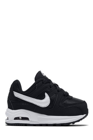 timeless design 5b834 98b65 Buy Nike Black White Air Max Command Infant from Next Cyprus
