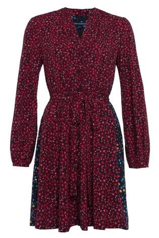 d85bb87623f8 Buy French Connection Dark Pink Aubine Fluid Short Shirt Dress from ...
