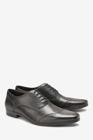 920fa377819 Buy Punched Wing Cap Oxford Shoe from the Next UK online shop