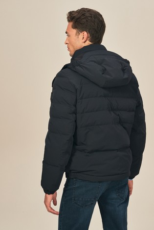 modern style 2020 select for genuine Buy BOSS Black Orteel Padded Jacket from Next Italy