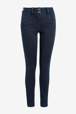 Slim And Shape SKINNY BLACK Jeans All Sizes Next Women/'s Lift