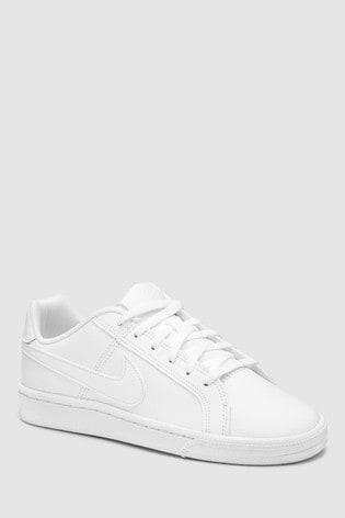 c22d4dfa9 Biela Biele detské tenisky Nike Court Royale ...