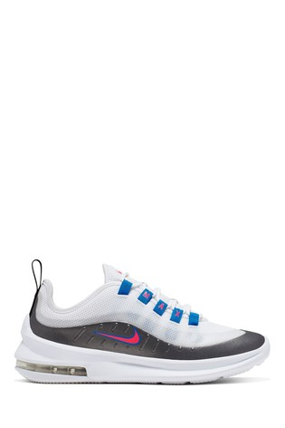 Nike WhiteBluePink Air Max Axis Youth Trainers