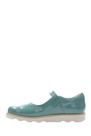 f8aae240fcad Buy Clarks Teal Crown Jump K Shoe from the Next UK online shop