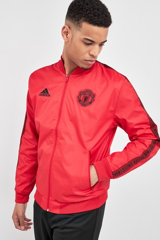adidas Red Manchester United Anthem Jacket