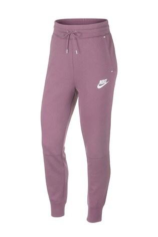 383d9534482 Kupte si Funkční černé fleecové tepláky Nike na Next Česká republika
