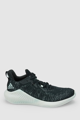 chaussures de sport 6b91b 7e10f adidas Run Black Parley AlphaBounce Trainers