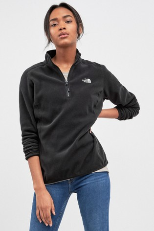 eaf16518752a1 Buy The North Face® 100 Glacier 1/4 Zip Fleece from the Next UK ...