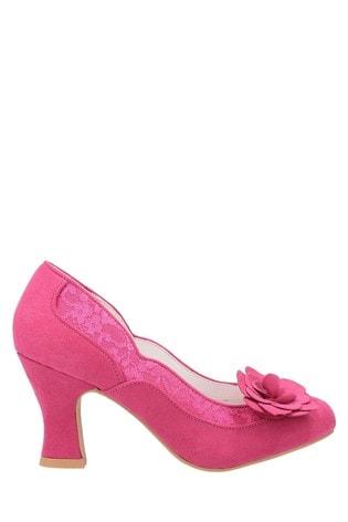 Buy Ruby Shoo Pink Chrissie Louis