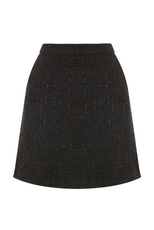 4b2066503f41dd Buy Oasis Black Sparkle Tweed Skirt from Next Ireland