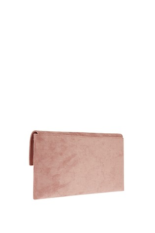 40d6e5f8f Buy Accessorize Pink Natalie Envelope Clutch Bag from the Next UK ...
