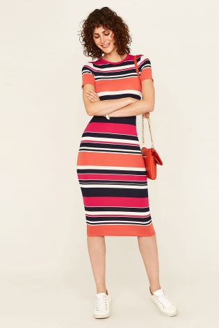 c46feaaa31 Buy Oasis Stripe Colour Clash Tube Dress from Next Ireland