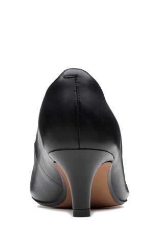 859a15545042 Buy Clarks Wide Fit Black Linvale Jerica Court Shoe from the Next UK ...