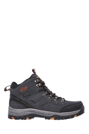 b6a76b1a569 Skechers® Grey Relment Pelmo Boot