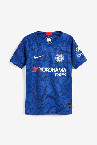 huge discount a46c7 f2eec Nike Youth Blue Chelsea Football Club 2019/2020 Home Jersey