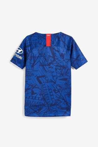 huge discount 67b56 8a7f7 Nike Youth Blue Chelsea Football Club 2019/2020 Home Jersey