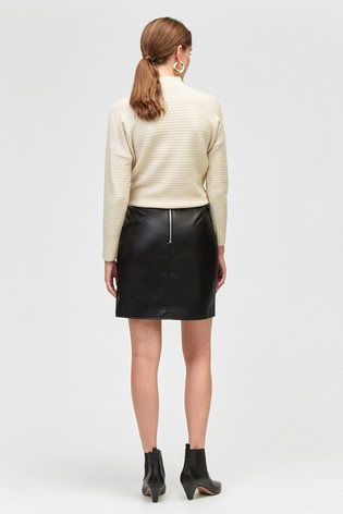 7d45330299c Buy Warehouse Black Pocket Detail PU Skirt from the Next UK online shop