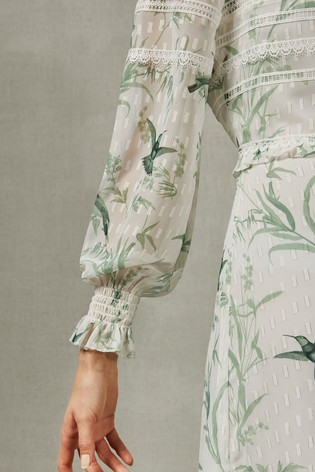 750eec85b Buy Ted Baker Mint Hhariet Fortune Lace Trim Maxi Dress from the ...