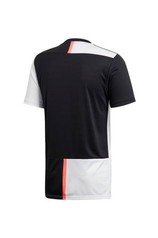 free shipping 92ab8 eaf35 adidas Black/White Juventus FC Home 19/20 Jersey Top