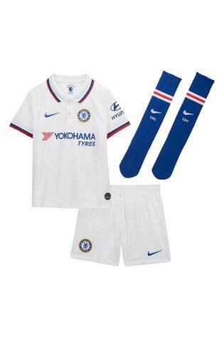 size 40 9ae3d d0fbb Nike White Chelsea Football Club 2019/2020 Away Kit