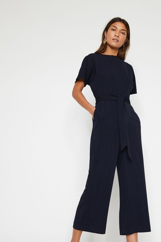 e1f99bad4eb3 Buy Warehouse Blue Slash Neck Jumpsuit from the Next UK online shop