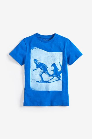 d0a2dd5c Buy Skate Dino Shadow T-Shirt (3-14yrs) from the Next UK online shop