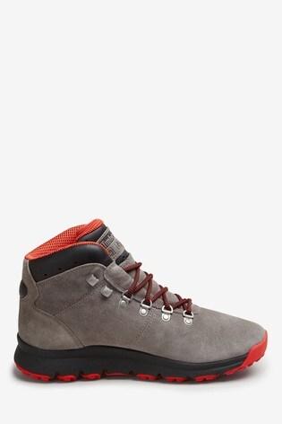 newest 633b7 e9dbb Timberland® Mens Grey Suede World Hiker Boots
