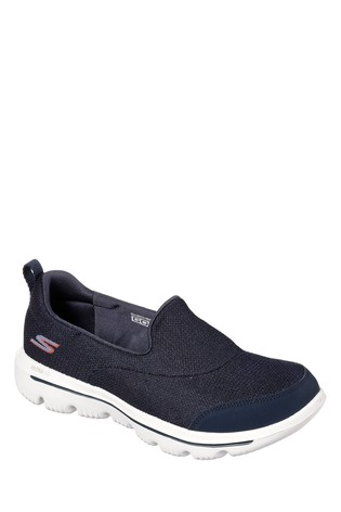 a0064b84f4f90 Buy Skechers® Navy Go Walk Evolution Ultra Reach Shoe from the Next ...