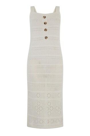 6e318f5410f Buy Warehouse White Mock Crochet Dress from Next Ireland