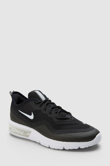 finest selection 72a82 e8ed5 Black Nike Air Max Sequent 4.5 ...