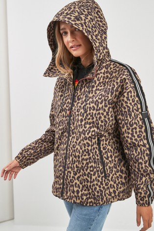 3701ef32ce1d Buy Replay® Leopard Print Jacket from the Next UK online shop