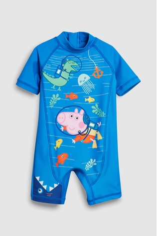 b6cafba415f Buy Peppa Pig™ Sunsafe Swimsuit (3mths-7yrs) from the Next UK online ...