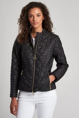 barbour international biker jacket