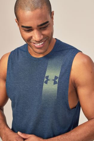 bcd66e8a3da40c Buy Under Armour Threadborne Graphic Muscle Tank from Next Netherlands