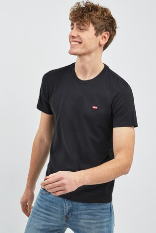 Levi's Housemark Black T Shirt | Zumiez