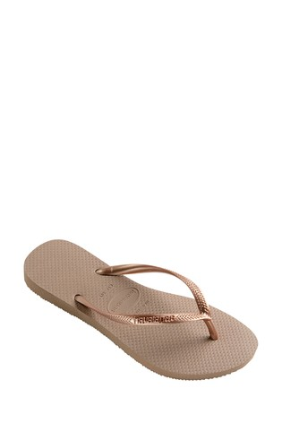 233d1d070801d Buy Havaianas® Rose Gold Slim Flip Flop from Next Ireland