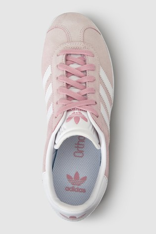 outlet store 60d64 c9abe ... adidas Originals Pink Gazelle Youth ...