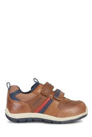 Shaax Cognac/Navy Velcro Sneakers