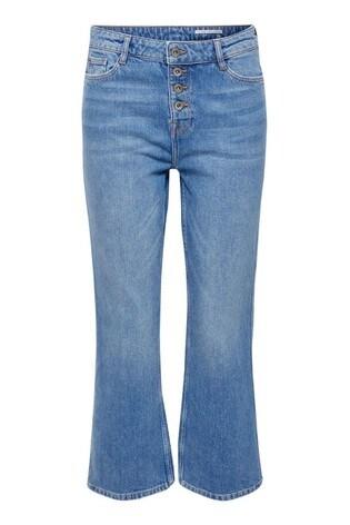 Luxus kaufen neueste auswahl echte Schuhe Esprit Light Blue Cropped Stretch Jeans