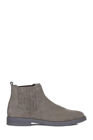 nueva estilos fa472 9c88b Geox Men's Brandled Grey Boot