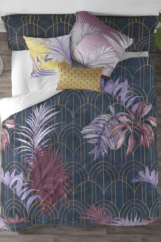 Buy Happy Friday Midnight Floral Cotton Duvet Cover And Pillowcase Set From The Next Uk Online Shop