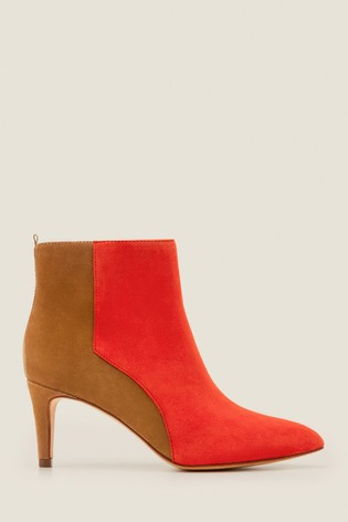 real quality 50-70%off latest collection Boden Red Bracknell Ankle Boots