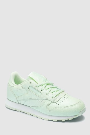 2f134840e81 Buy Reebok Mint Classic Leather Shimmer Junior from Next Ireland