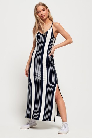 ea9337732 Superdry Azur Stripe Maxi Dress